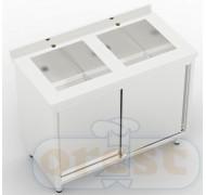 Stoly z szafka Orest Stół ze stali nierdzewnej CSL-2.1-С2S